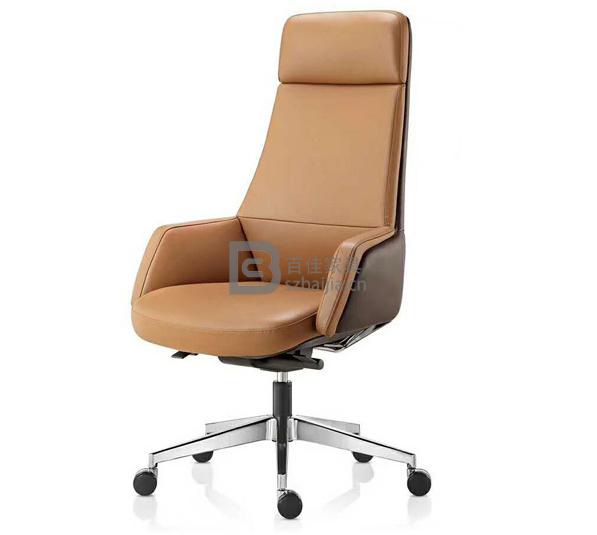 现代皮质大班椅-15