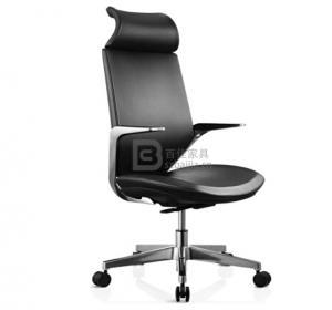 现代皮质大班椅-36