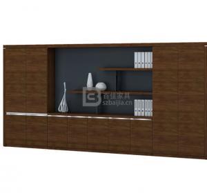 木皮文件柜-18