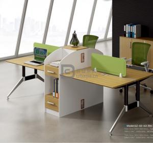 钢架职员桌-41