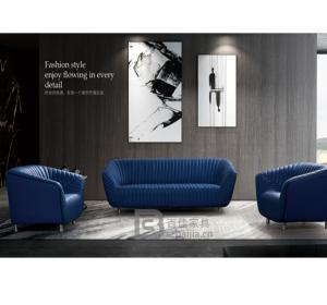 现代办公沙发-64