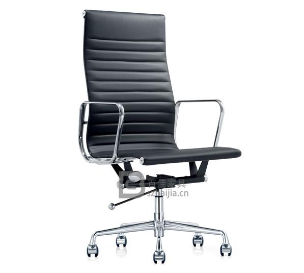 现代皮质大班椅-18
