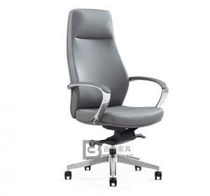 现代皮质大班椅-23