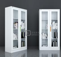 瓷白文件柜-09