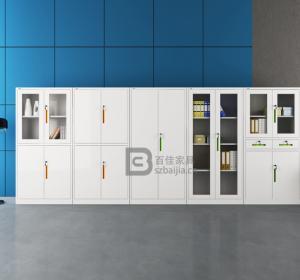 瓷白文件柜-05
