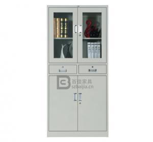 灰白铁皮文件柜-05