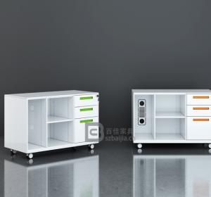 瓷白文件柜-02