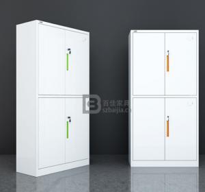 瓷白文件柜-07