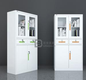 瓷白文件柜-08