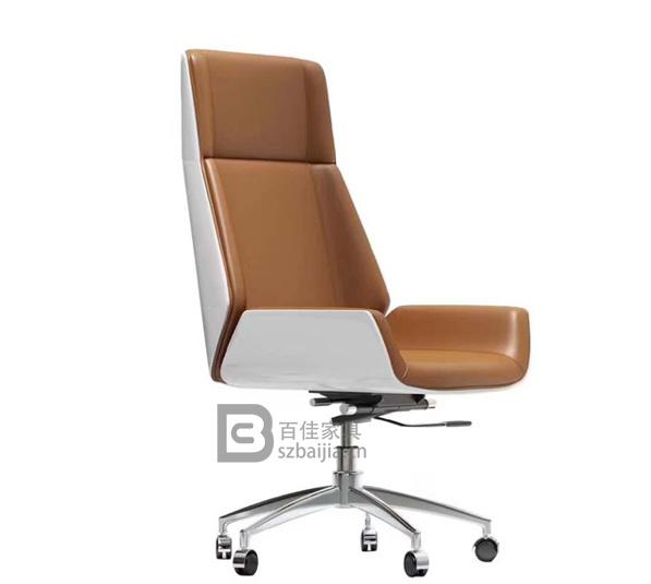 现代皮质大班椅-48