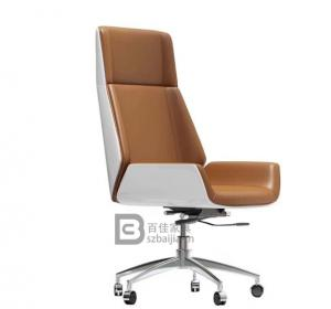 皮质班椅-48