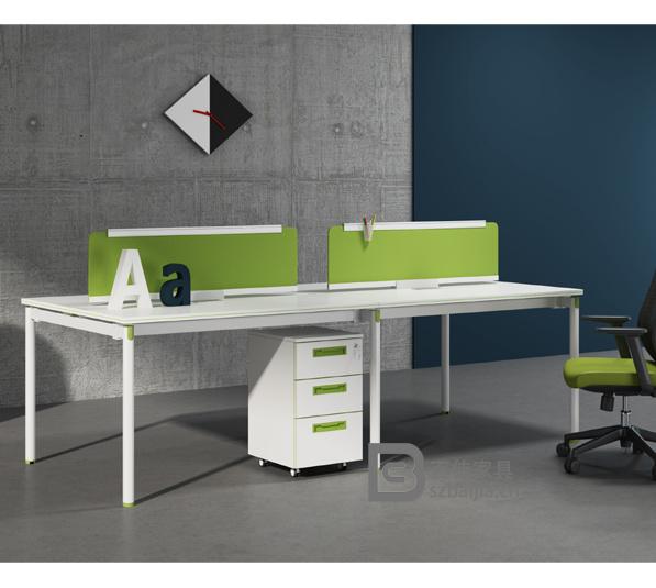 钢架职员桌-02