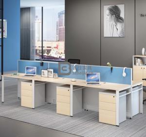 钢架职员桌-56