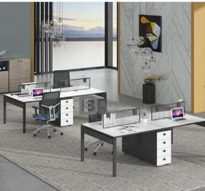 钢架职员桌-45