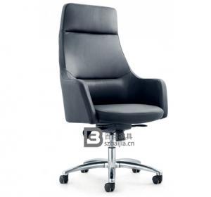 现代皮质大班椅-16