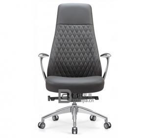 现代皮质大班椅-31