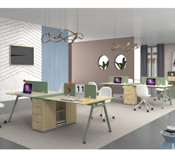 钢架职员桌-13