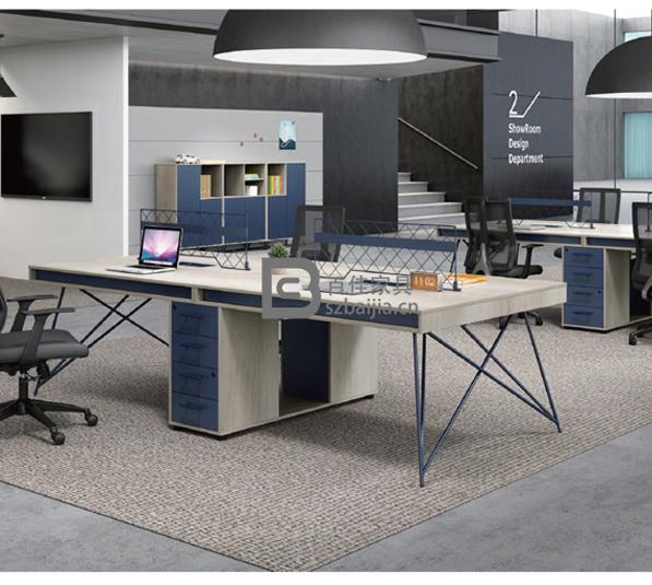 钢架职员桌-34