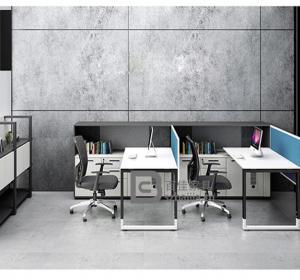 钢架职员桌-32