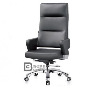 现代皮质大班椅-35