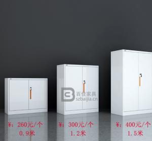 瓷白文件柜-01