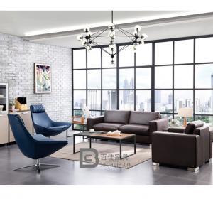 现代办公沙发-52