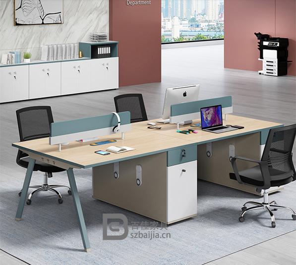 钢架职员桌-59