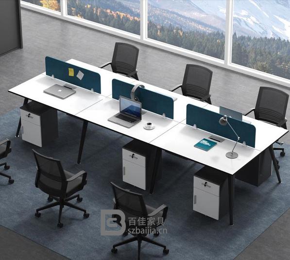 钢架职员桌-06
