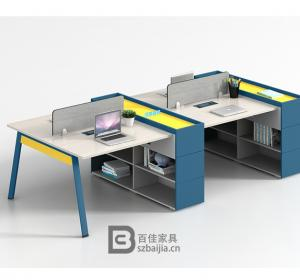 钢架职员桌-37