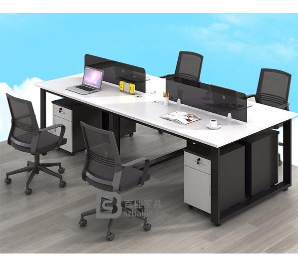 钢架职员桌-24