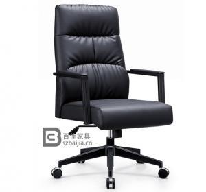 皮质班椅-60