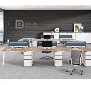 钢架职员桌-68
